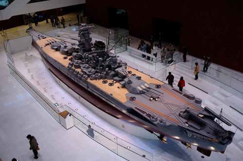 «Япония-модель линкора Yamato»