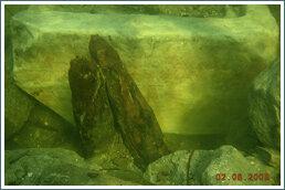 Надгробие Гипсикратии обнаружено в строительном ломе для забутовки древнего подводного ряжа - портового сооружения