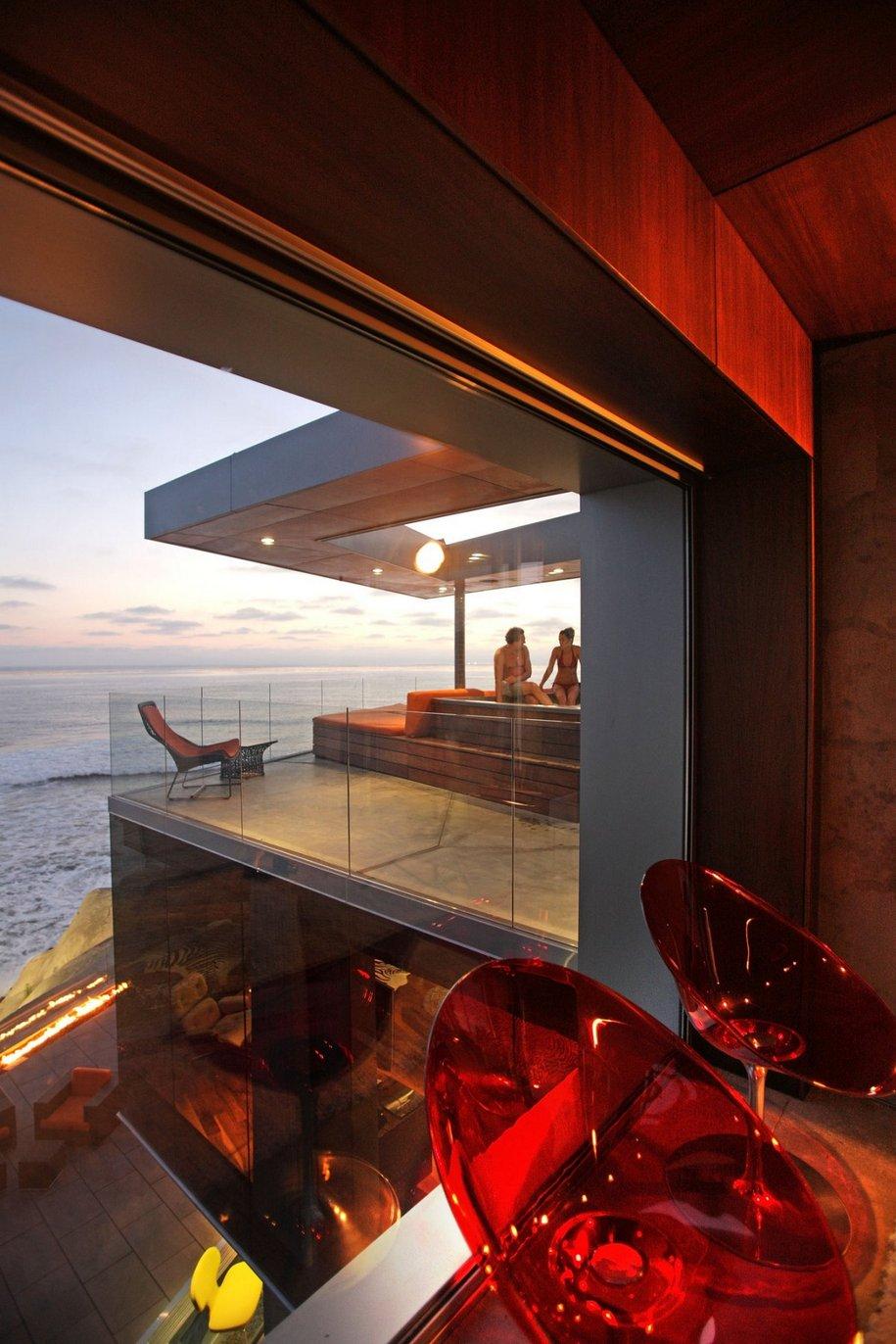 Lemperle Residence с видом на океан в Калифорнии