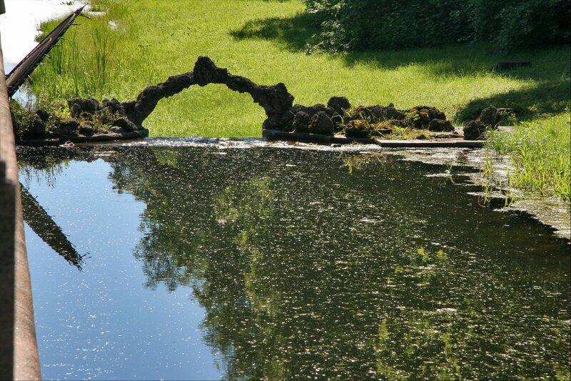Екатерининский парк, Каскадный канал