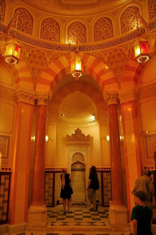 фонтан-каскад в Купольном зале