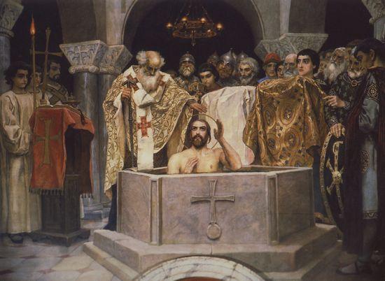 Святой равноапостольный князь Владимир, крещение Руси