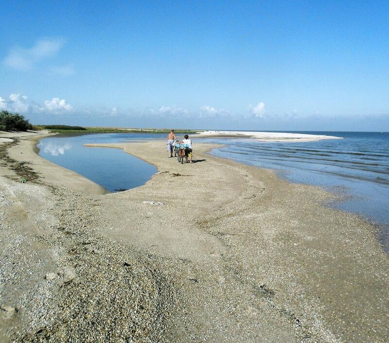 Утро туристическое, у моря