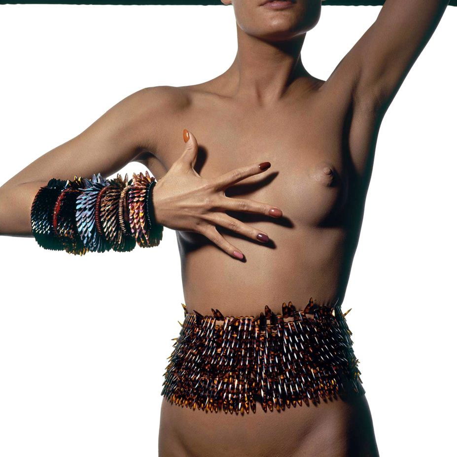 модель Крис Зеймер, фотограф Irving Penn / Эротика в Vogue, Россия спецвыпуск ноябрь 2012