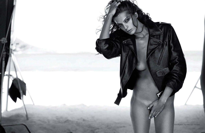 модель Daria Werbowy / Дарья Вербовы, фотограф Peter Lindbergh / Эротика в Vogue, Россия спецвыпуск ноябрь 2012