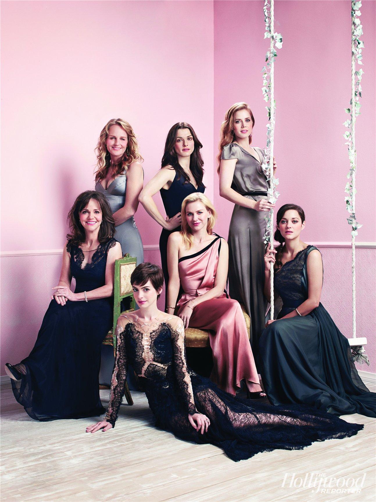 Круглый стол - претендентки на Оскар в журнале The Hollywood Reporter, ноябрь 2012