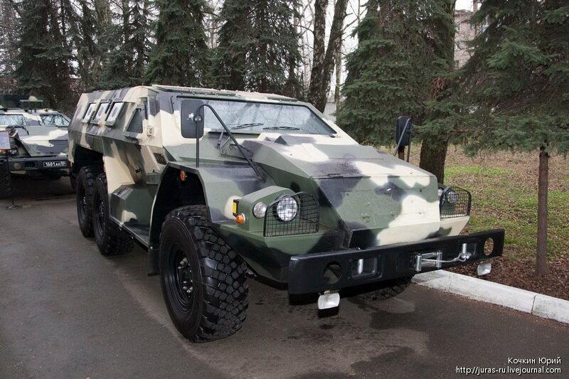 Специальное транспортное средство СБА-60-К2  Булат. Технический облик военного автомобиля многоцелевого назначения XXI века