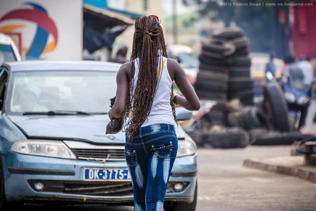 Женщины Сенегала