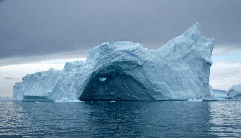 синий лед