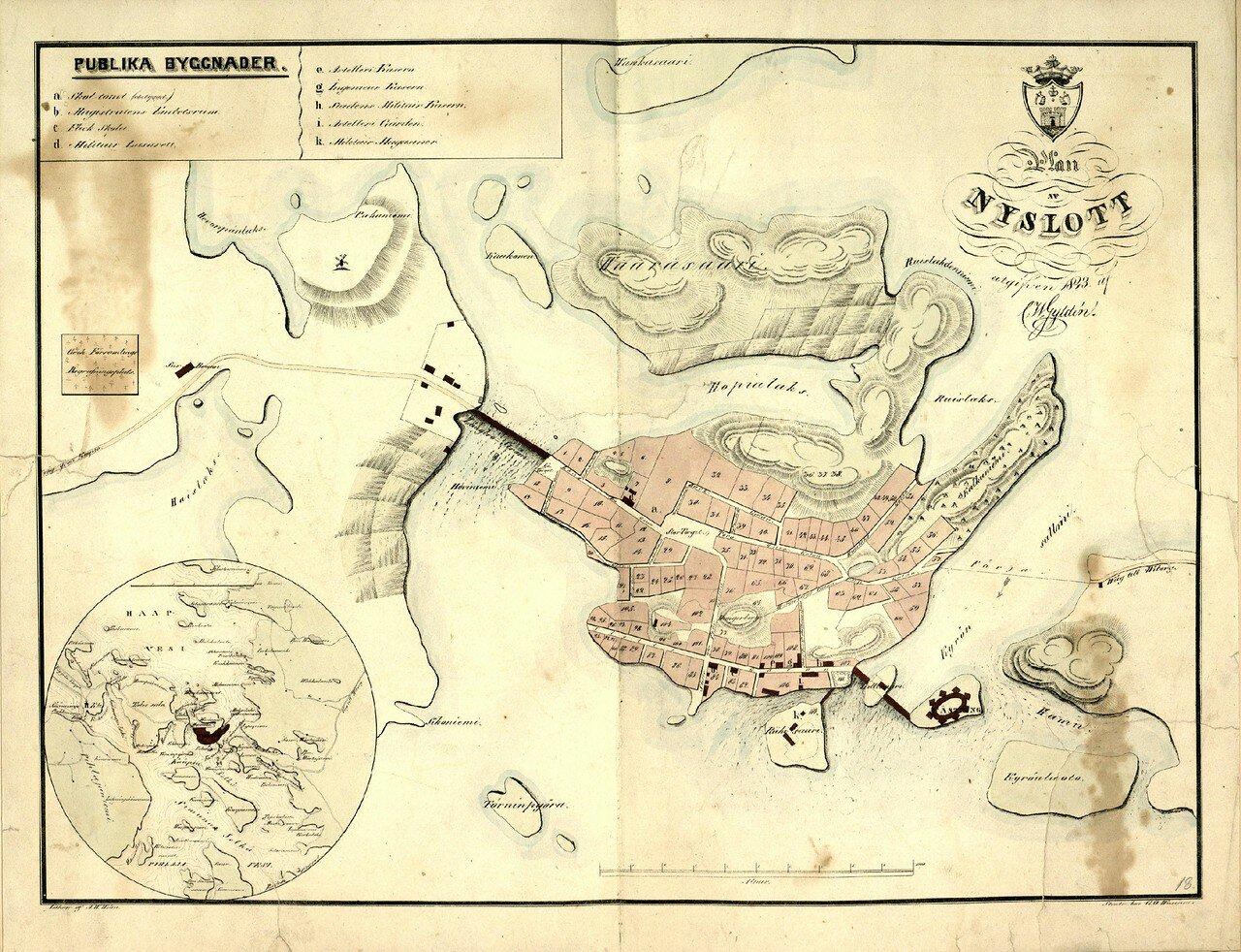 Нюслотт. 1843