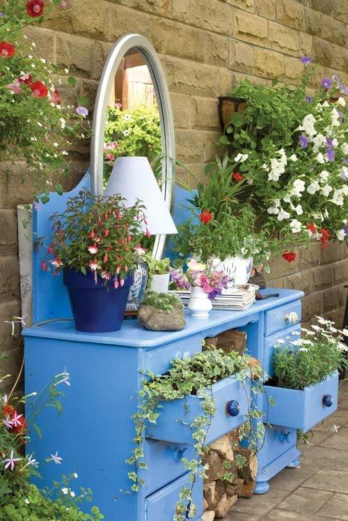 Дизайн для сада и огорода своими руками