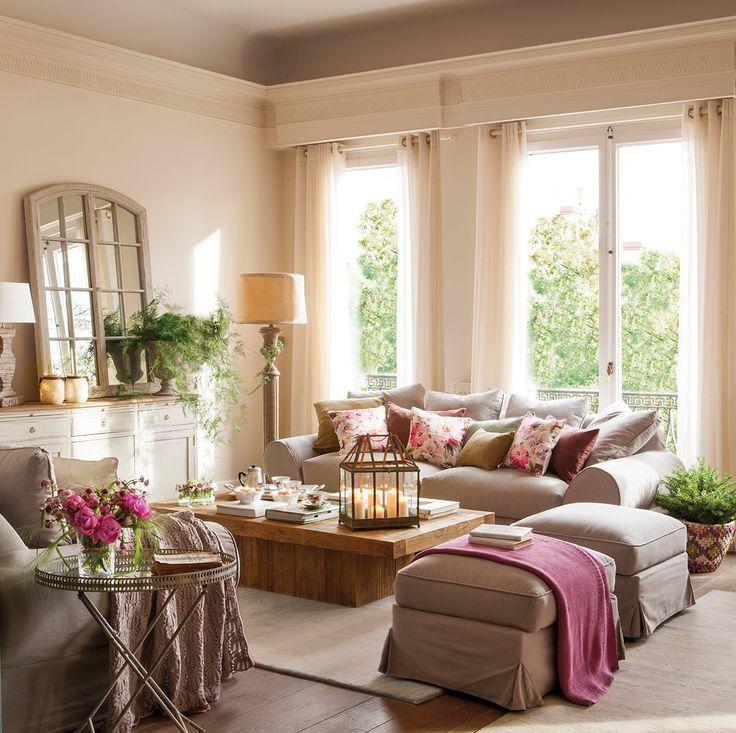 Интерьер уютных гостиных