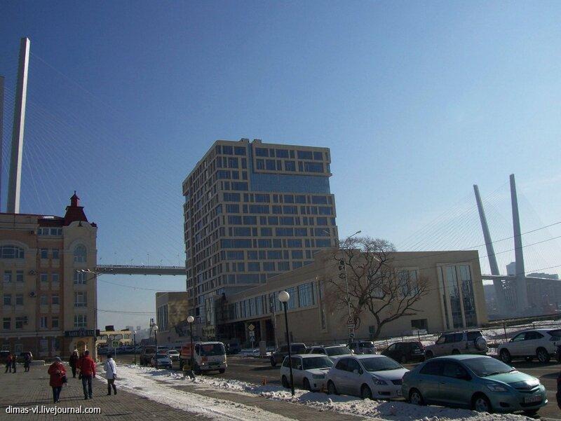 Отель Hyatt Regency City (на Корабельной набережной). 21-ноября-2012г