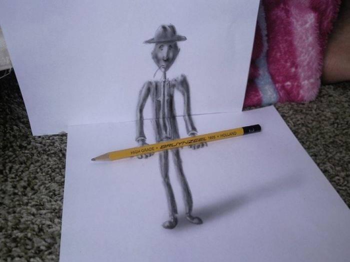 Реалистичный 3D-арт