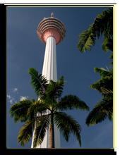 Малайзия. Куала-Лумпур. KL Tower in Kuala Lumpur, фото BastianLinder - Depositphotos