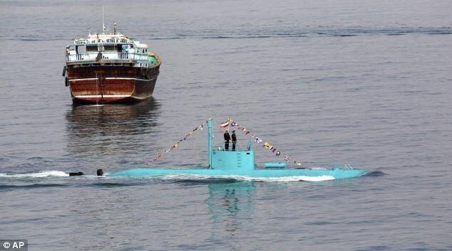 Суровый иранский подводный флот