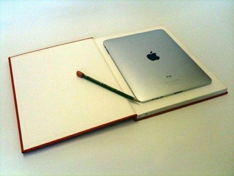 книга как чехол для Ipad