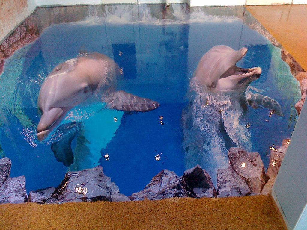 Эксклюзивный наливной пол может включать любое изображение, верхний слой возможно сделать прозрачным...