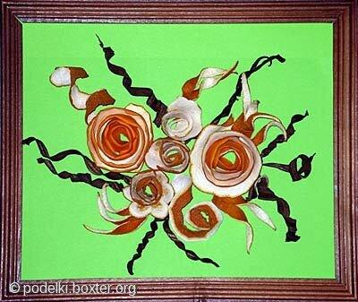 Поделки из кожуры мандарина и других цитрусовых своими руками