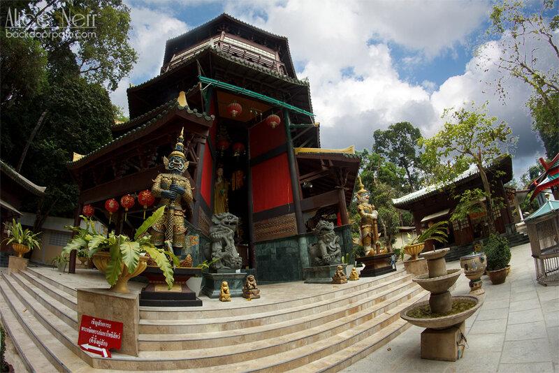 храм китайской богини сострадания