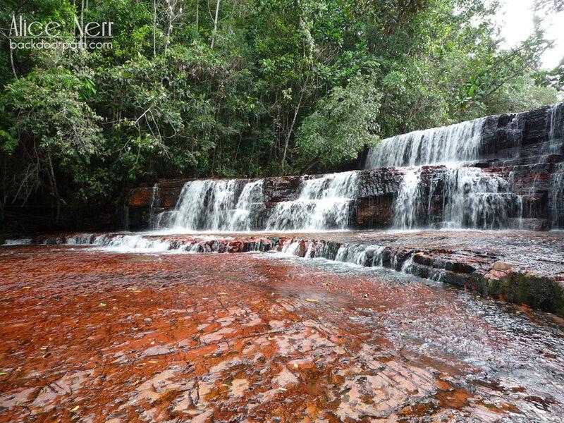 водопад Квебрада де Джаспе (Quebrada de Jaspe waterfall)