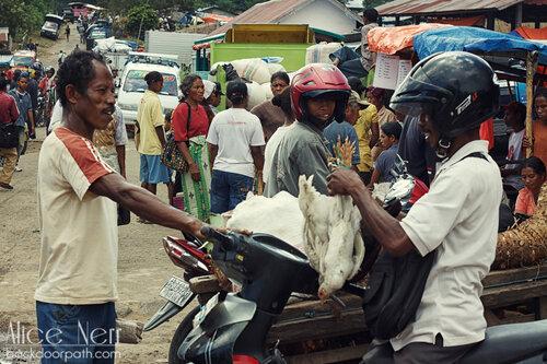 процесс купли-продажи на индонезийском рынке