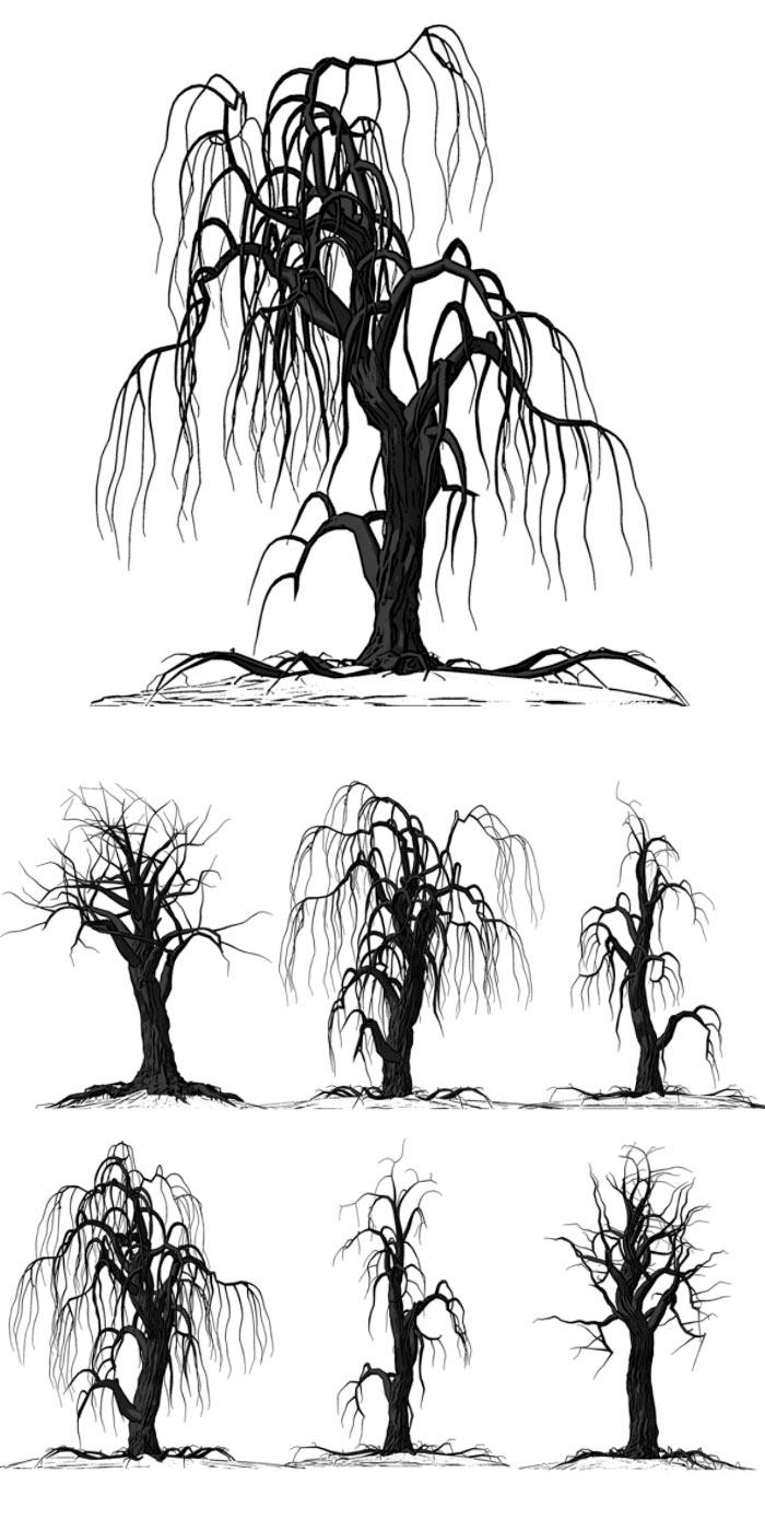 фотографии деревьев: