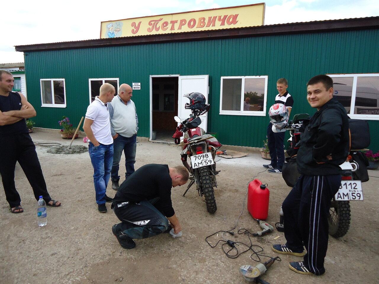 Девченку трахнули за ремонт мотоцикла