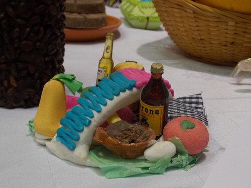 мексиканские угощения  ко Дню Мертвых