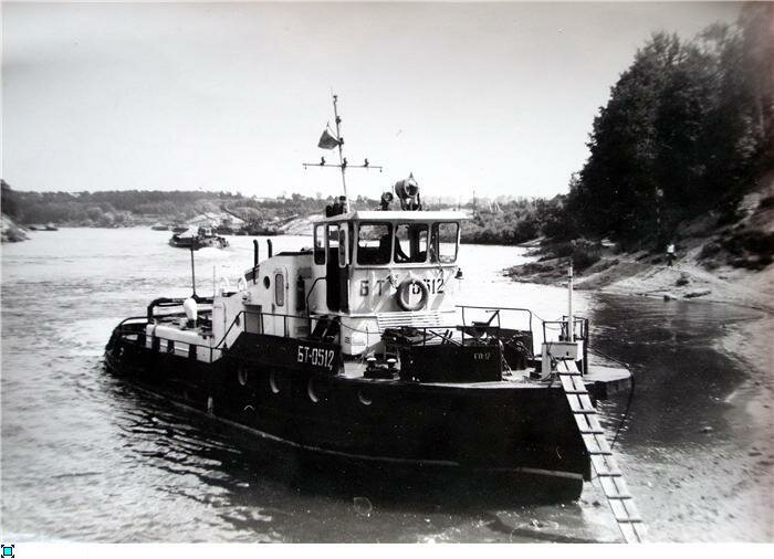 Теплоход БТ-0512
