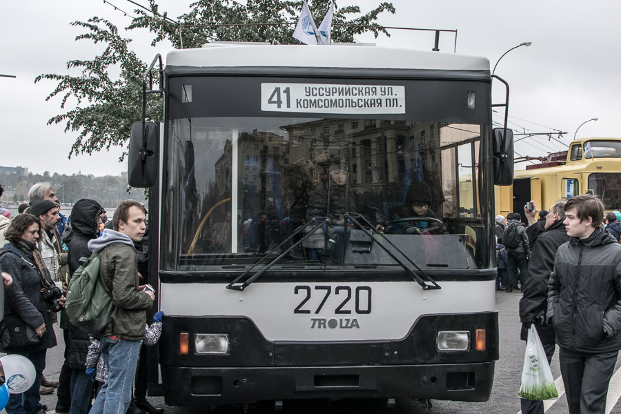 фото, троллейбус, транспорт, музей, выствака