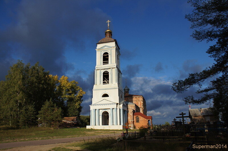 село Яковлево - Храм Покрова Пресвятой Богородицы