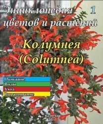 Журнал Энциклопедия цветов и растений № 1. Колумнея
