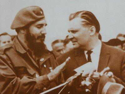 Фидель Кастро тесно сотрудничал со Щербицким. Он помог с лечением наших детей после аварии на ЧАЭС