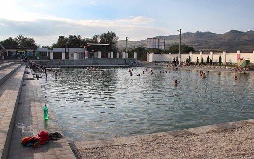Аушигер - горячее озеро
