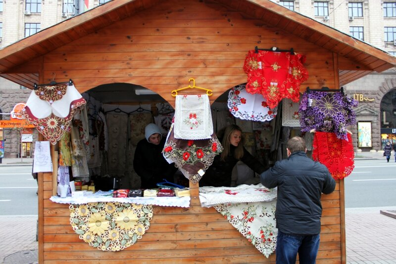 Ярмарочный домик на Крещатике
