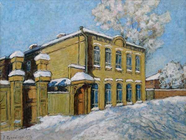 Пётр Иванович Петровичев. Ульяновск. Дом, где родился Ленин. 1937.