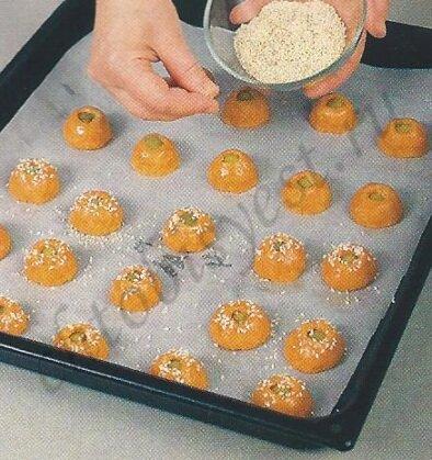 печенье с оливками