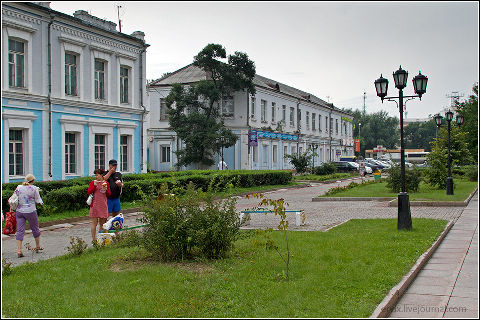 Центральная улица Уссурийска