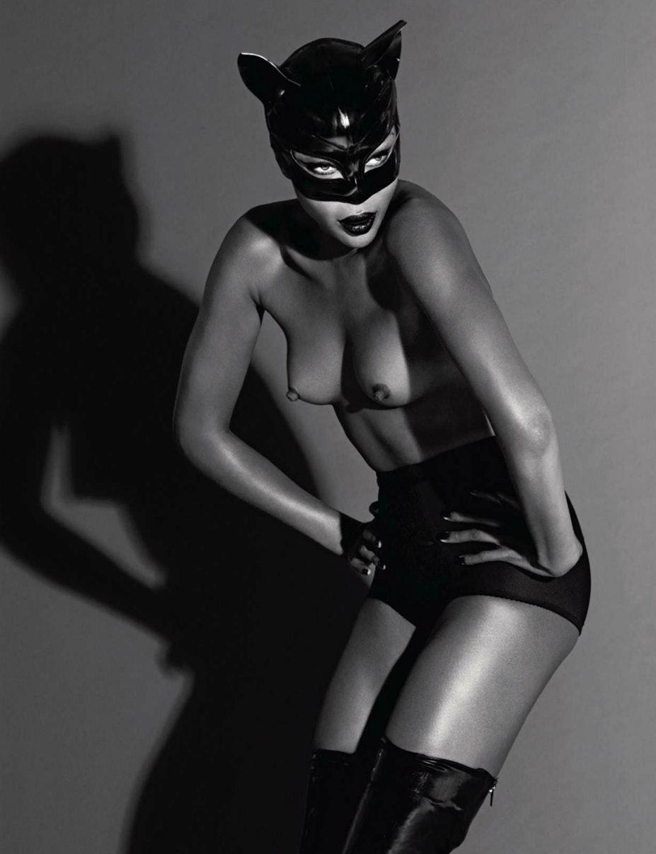 модель Naomi Campbell / Наоми Кэмпбелл, фотографы Mert & Marcus / Эротика в Vogue, Россия спецвыпуск ноябрь 2012