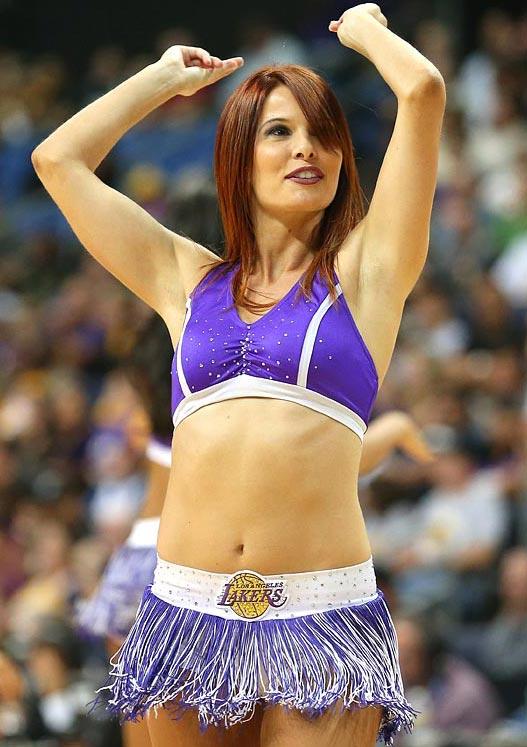 Los Angeles Lakers - cheerleaders NBA october 2012 / девушки из групп поддержки в баскетболе НБА