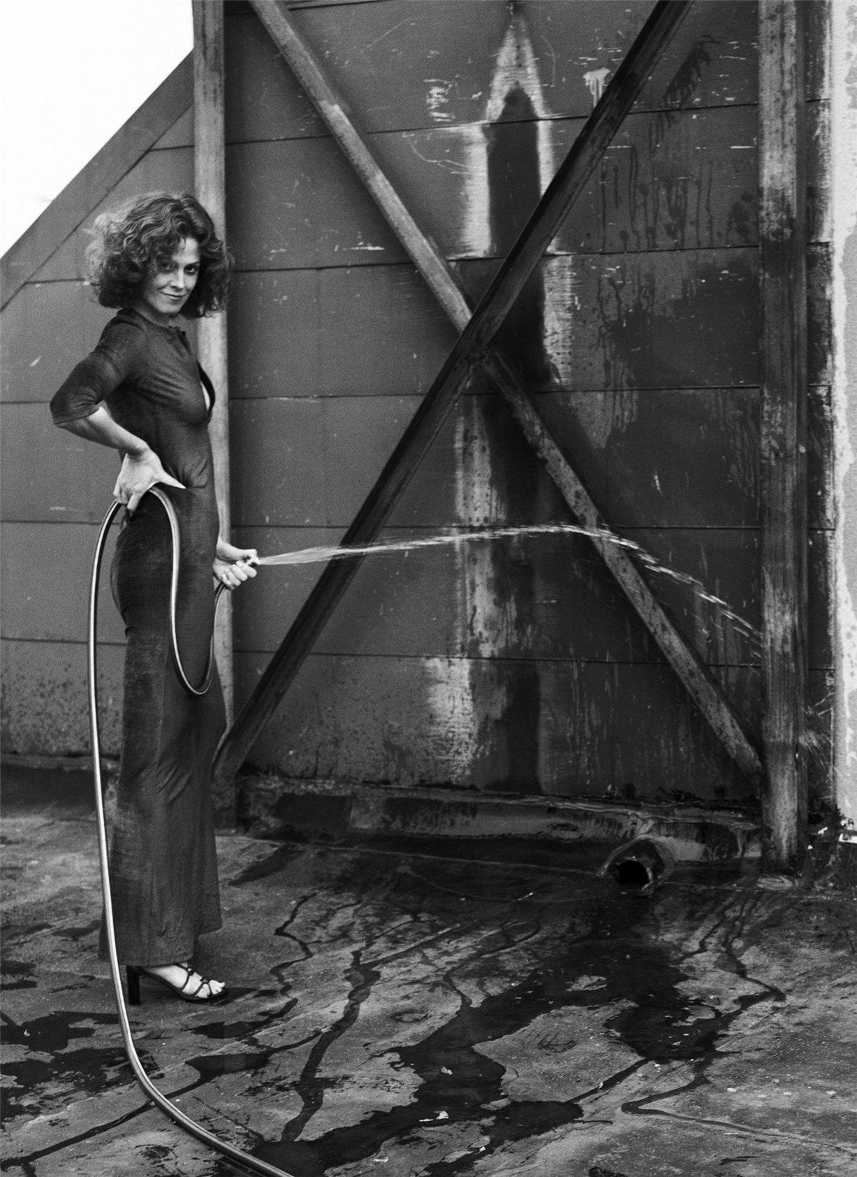 Sigourney Weaver / Сигурни Уивер - звезды Голливуда, фотограф Firooz Zahedi