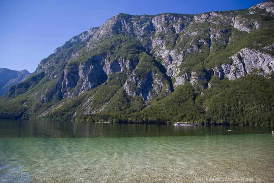 Путешествие на автомобиле по Словении