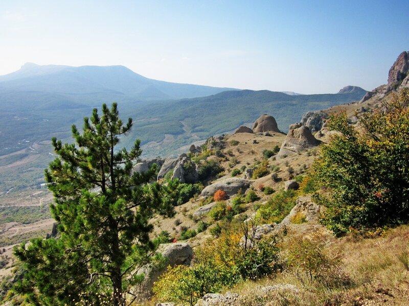Вид на Долину Привидений