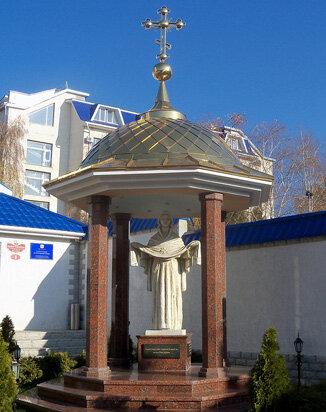 Скульптура Покрова Божией Матери