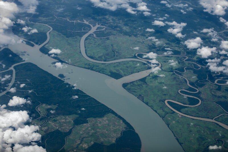 Где-то над Мьянмой