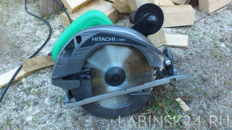 Циркулятная пила Hitachi C 7MFA