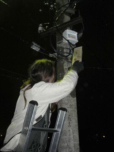 Фото 6. Неудачная попытка включения автомата с помощью доски.