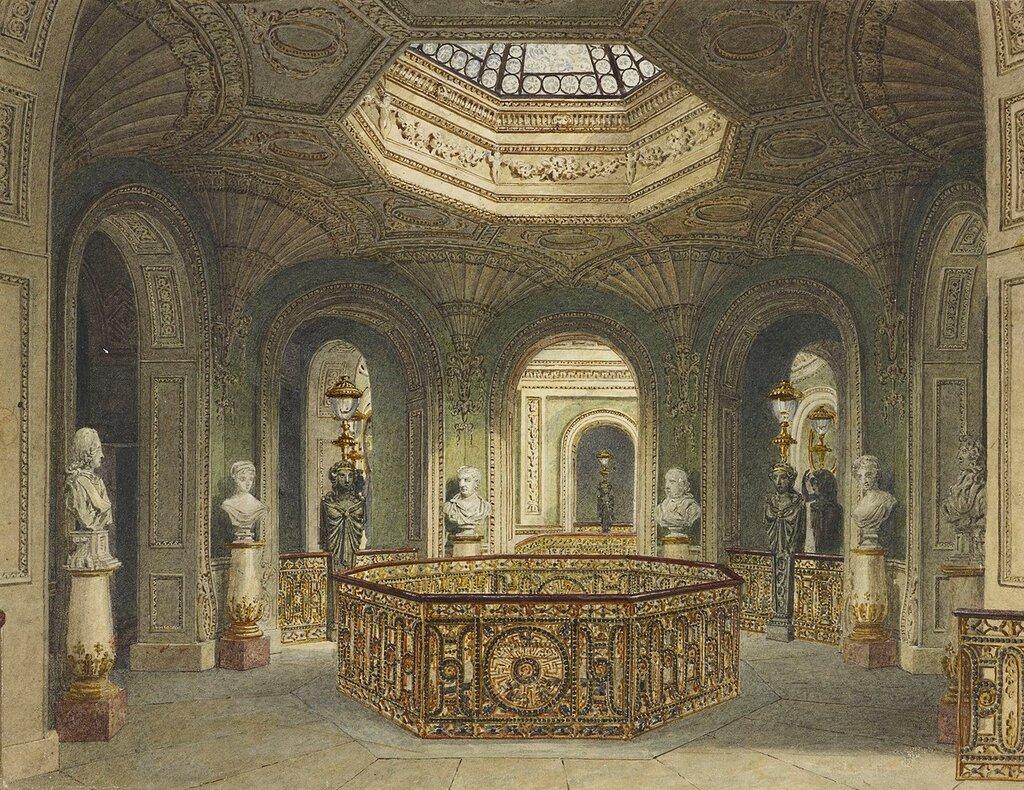 Галерея лестница, Carlton House.