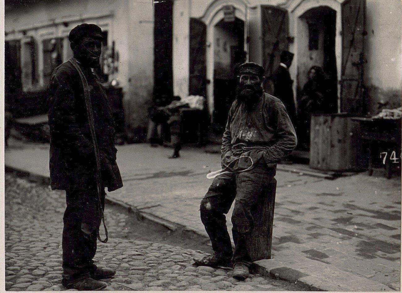 Еврейские грузчики во Владимире-Волынском